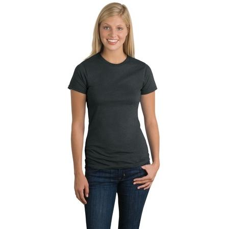 District Threads Ladies Perfect Weight T-Shirt 3XL - Heathered Charcoal