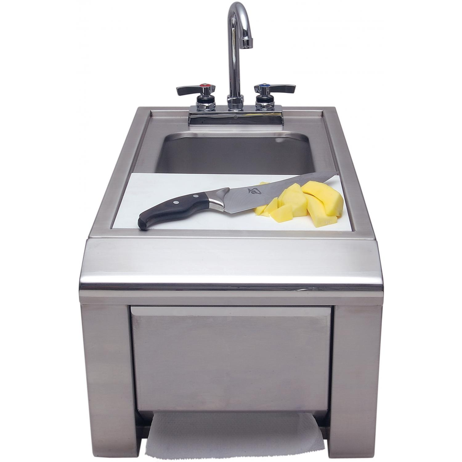 Picture of Alfresco Prep And Wash Sink With Towel Dispenser