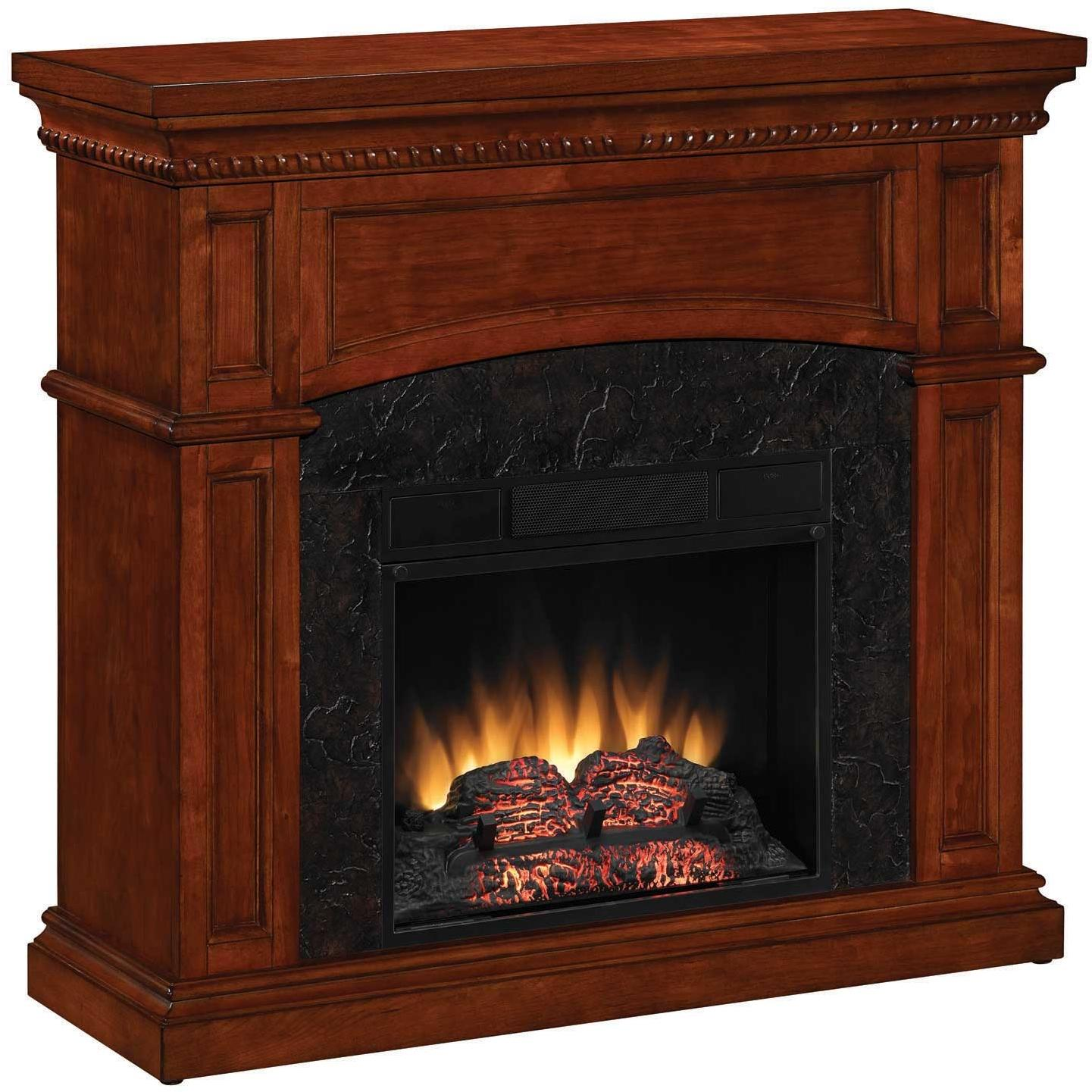 ClassicFlame 18DM1141-C230 Nantucket 18 Inch Dual Use Electric Fireplace - Golden Cherry