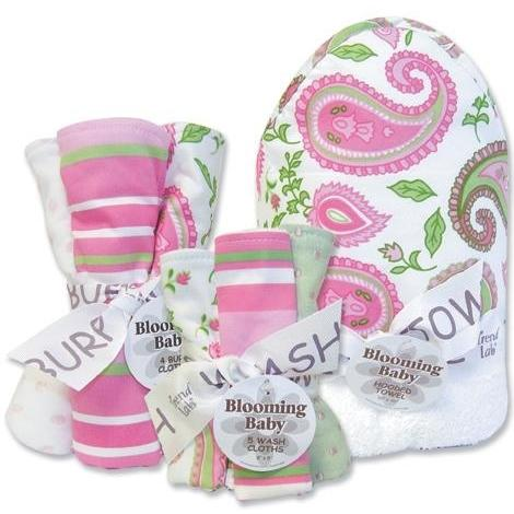 Trend Lab 10-Piece Baby Gift Set - Paisley Park