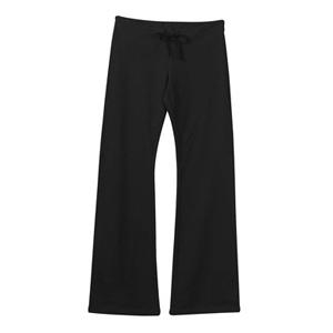 Bella Ladies Stretch French Terry Lounge Pant 2XL - Black
