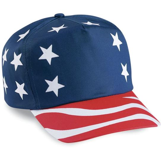 Cobra Caps American Flag 5-Panel Cap
