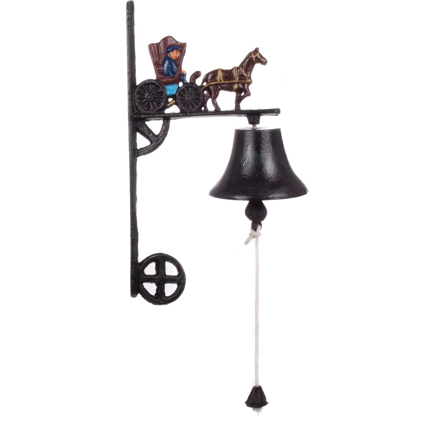 Cajun Cookware Bells Horse And Buggy Cast Iron Dinner Bell