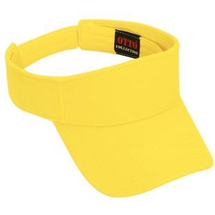 Otto Cap Comfy Cotton Pique Knit Sun Visor - Maize