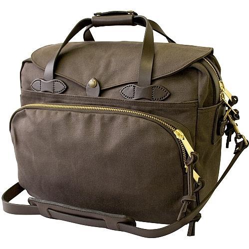 Filson Padded Laptop Bag/Briefcase Brown