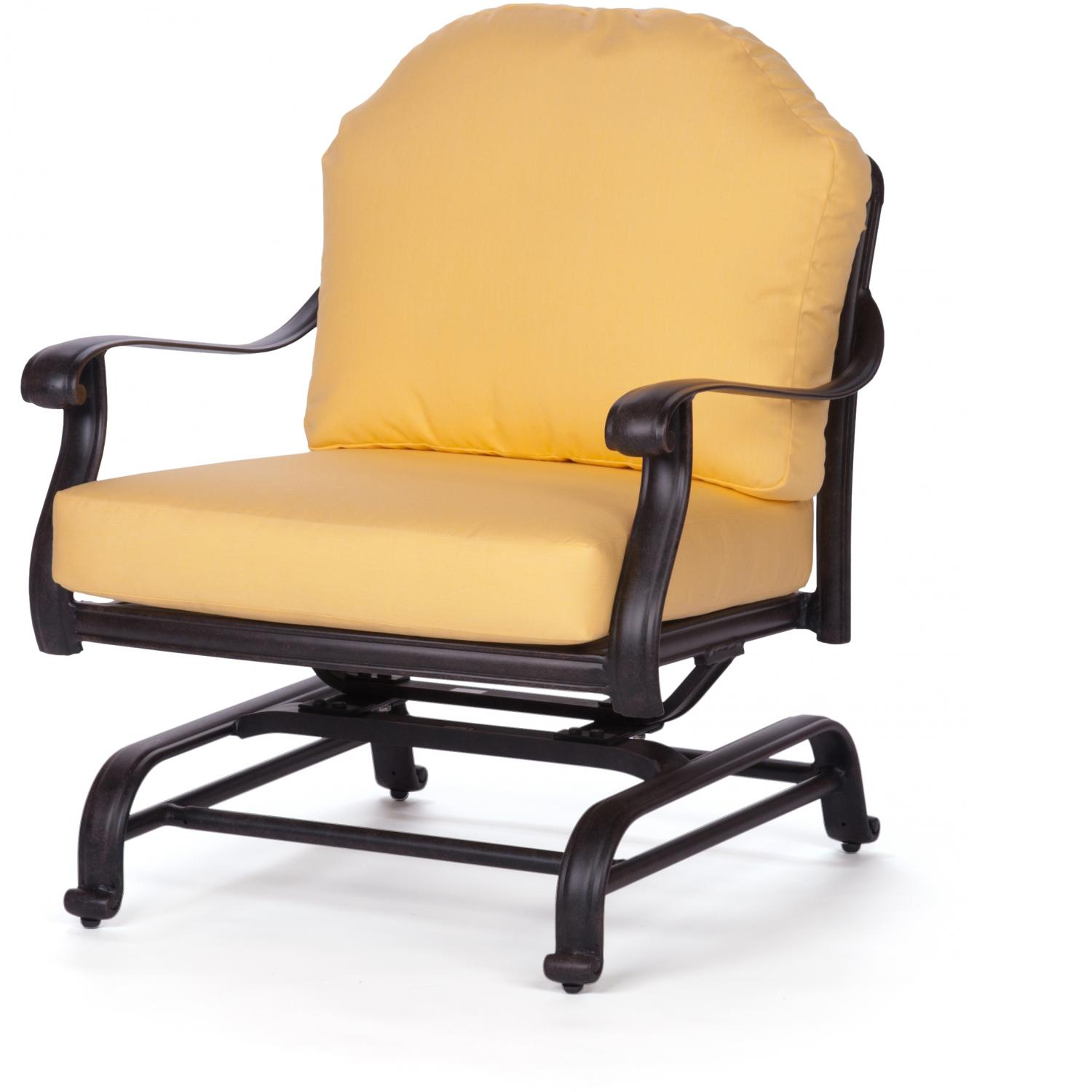 Caluco Florence Aluminum Glider Club Chair