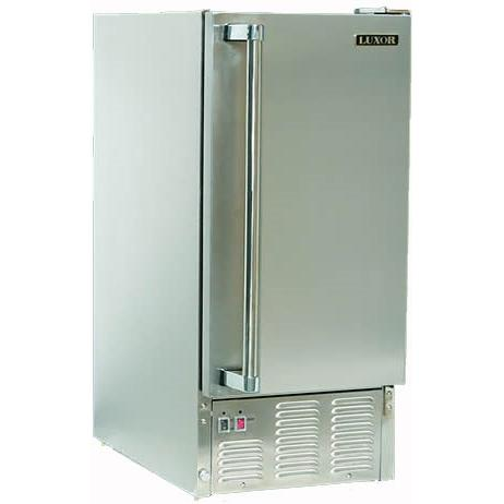 Luxor AHT-OD-IM 44 lb Capacity Outdoor Ice Maker - Stainless Steel
