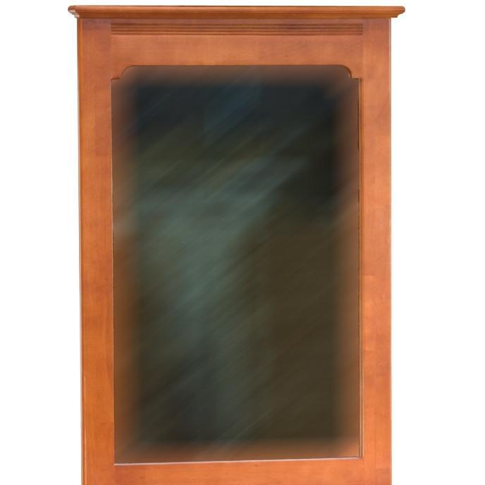 Atlantic Furniture 69006 Portrait Mirror Light Cherry