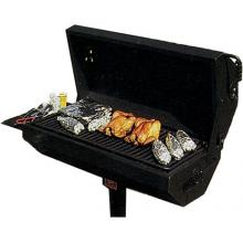 Pilot Rock Campground BBQ Charcoal Grill On Post - EC-40 B2