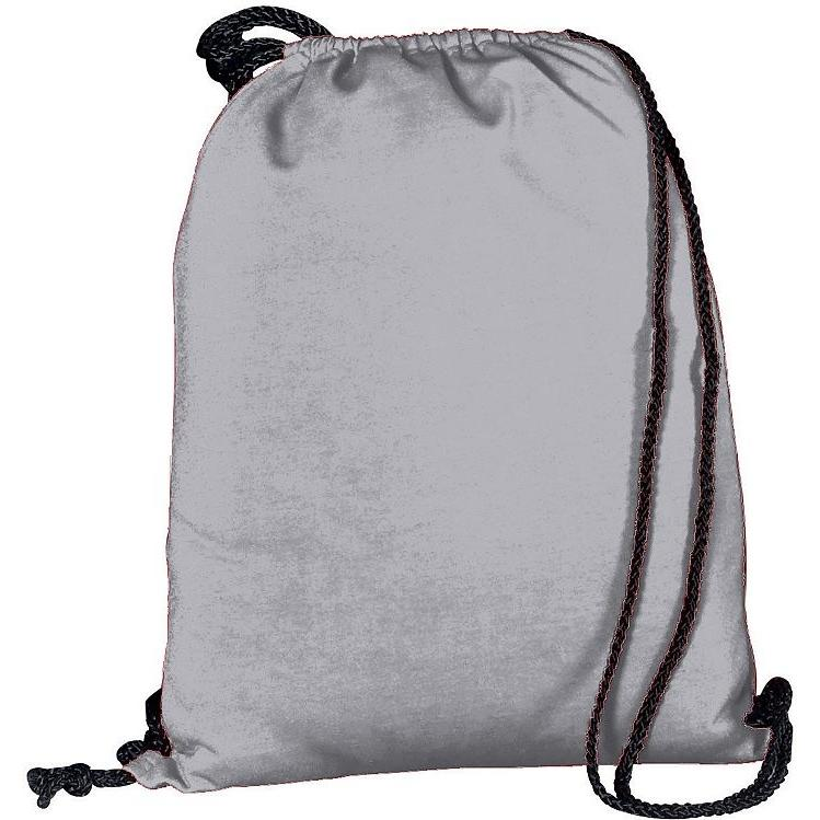 Augusta Athletic Fleece Drawstring Backpack - Athletic Heather