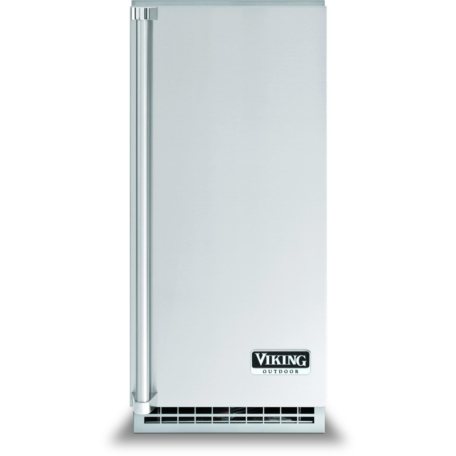 Viking FPIM515 15-Inch Under-Counter Outdoor Ice Machine With Pump Drain - Right Hinged