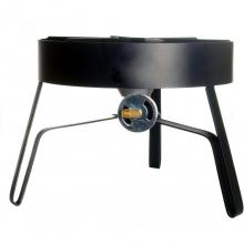 Cajun Cookware High Pressure Propane Gas Burner - GL571 Cajun Cookware High Pressure Propane Gas Burner - Side View with Valve