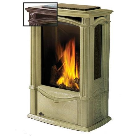 Picture of Napoleon GDS26 Castlemore Cast Iron Natural Gas Stove - Majolica Brown