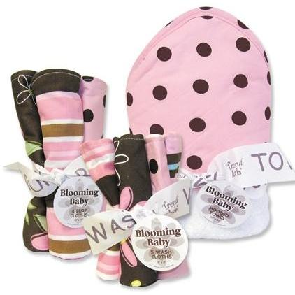 Trend Lab 10-Piece Baby Gift Set - Maya