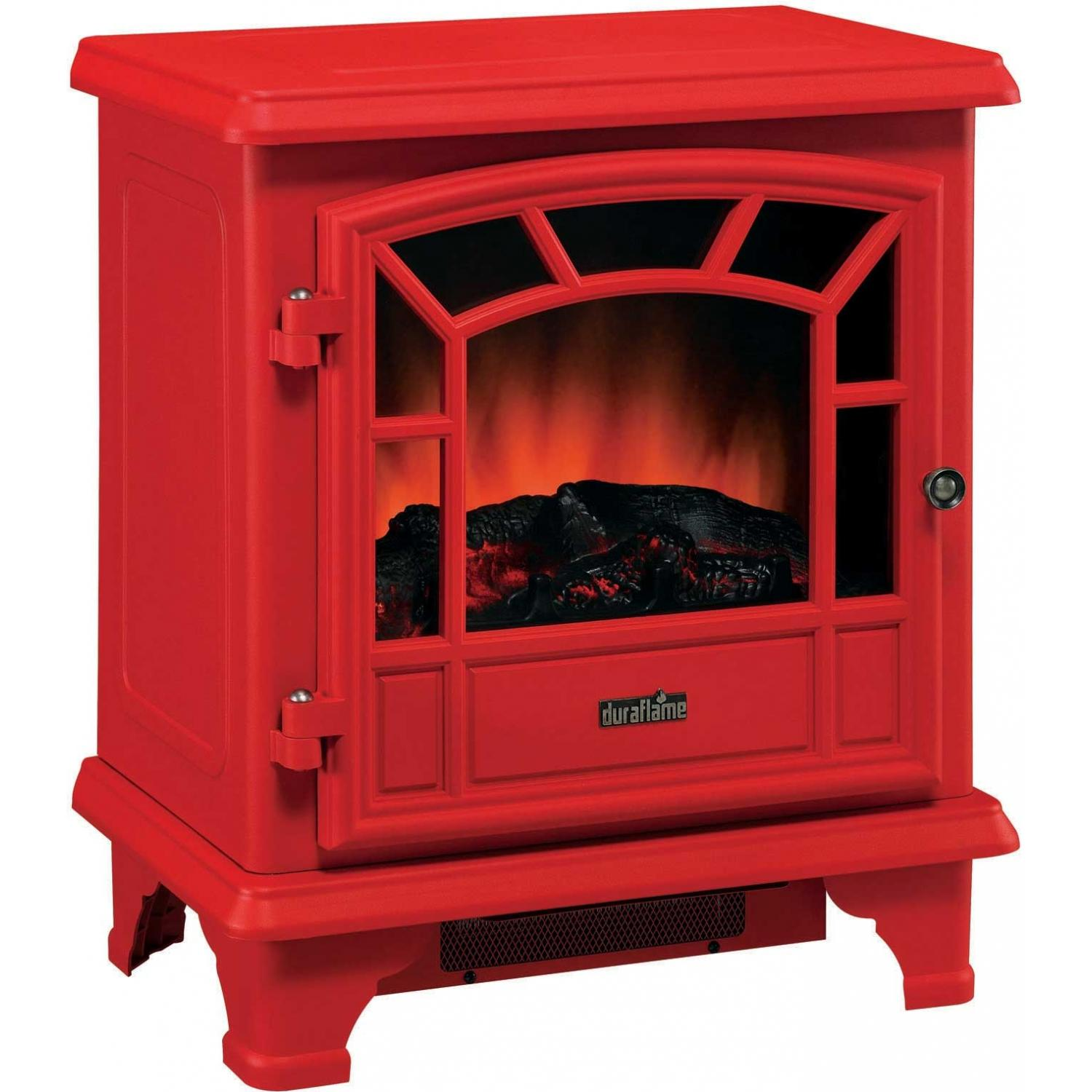 Duraflame DFS-550-0 Electric Stove With Heater - Red