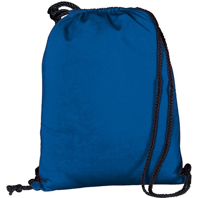 Augusta Athletic Fleece Drawstring Backpack - Royal