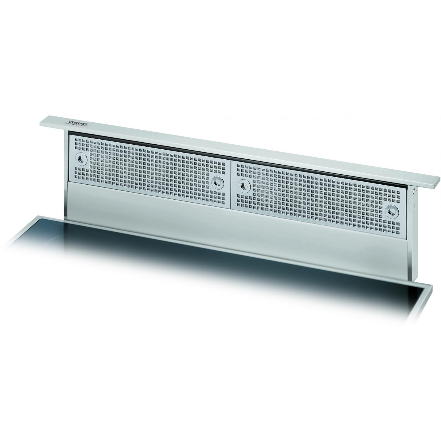 Viking DIPR101R 30-Inch Designer Series Stainless Steel Rear Downdraft Vent System W/ Mounted Controls