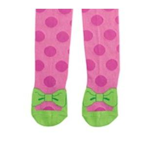 Elegant Baby Organic Knit Tights - Hot Pink