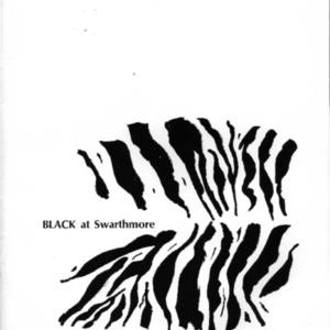 Black at Swarthmore 1970