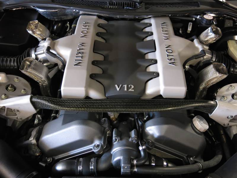 2004 Aston Martin Vanquish V12 Engine Sports Car Digest The Sports Racing And Vintage Car Journal