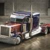 """1992 Peterbilt 379 """"Transformer's Optimus Prime"""" Stunt Truck"""