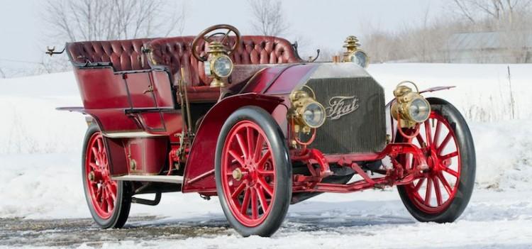 1905 FIAT 60HP Five-Passenger