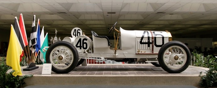 1911 Benz 150HP Grand Prix at Indy 500 Museum