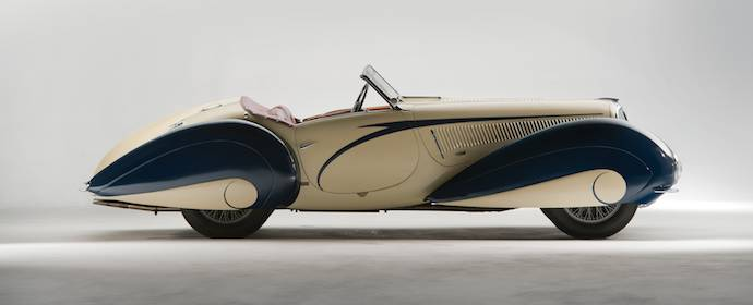 1937 Delahaye 135 Competition Court Roadster Side