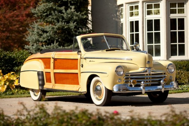 Ford Super Deluxe Woodie Sportsman Convertible X