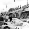 Le Mans 1953: Porsche 550 Coupe with Richard Franenberg and Paul Frere