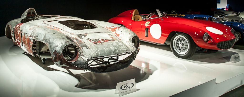 1955 Ferrari 750 Monza Spider by Scaglietti - RM Auctions