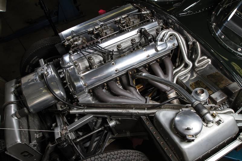1955 Jaguar D-Type XKD530 Engine