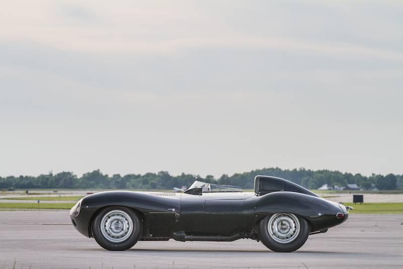 1955 Jaguar D-Type XKD530 Side
