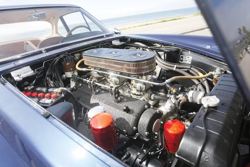 1961 Ferrari 400 Superamerica SWB Coupe Aerodinamico Engine