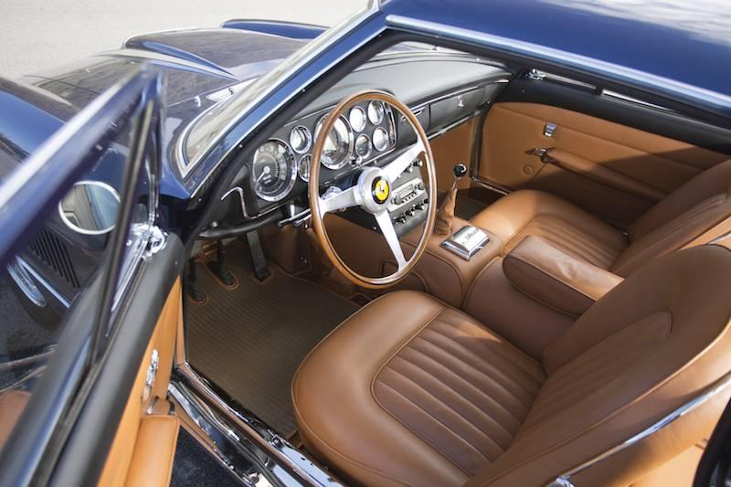 1961 Ferrari 400 Superamerica SWB Coupe Aerodinamico Interior