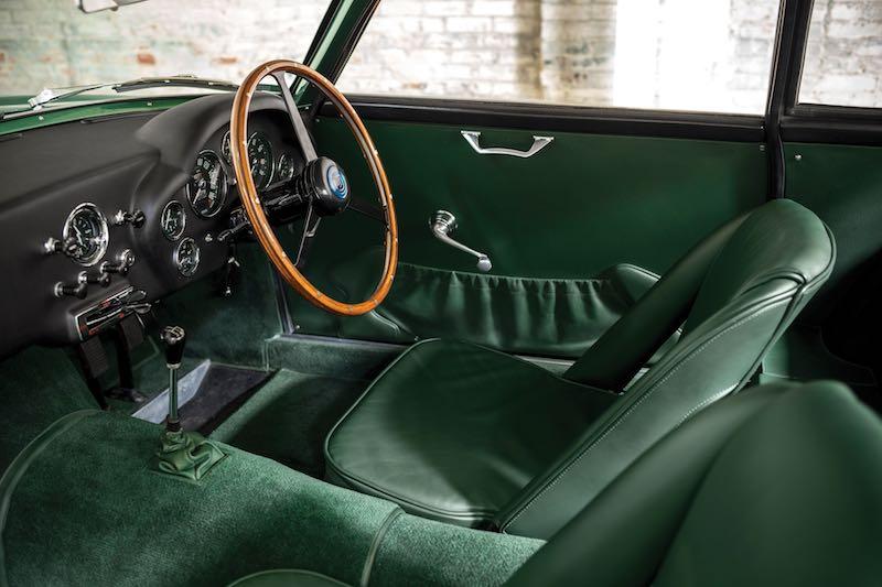 1962 Aston Martin Db4gt Zagato Interior Photo Patrick Ernzen Sports Car Digest The Sports Racing And Vintage Car Journal