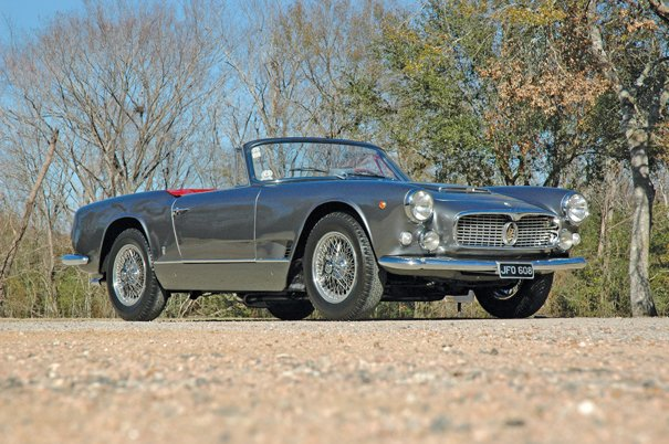 1963 Maserati 3500 GTI Vignale Spyder - Sports Car Digest ...
