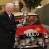 Paddy Hopkirk with Morris Mini Cooper S (photo: Ian Vogler)