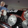 Paddy Hopkirk with Morris Mini Cooper S