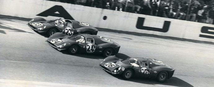 Ferrari Team 1-2-3 Finish at the 1967 Daytona 24 Hours