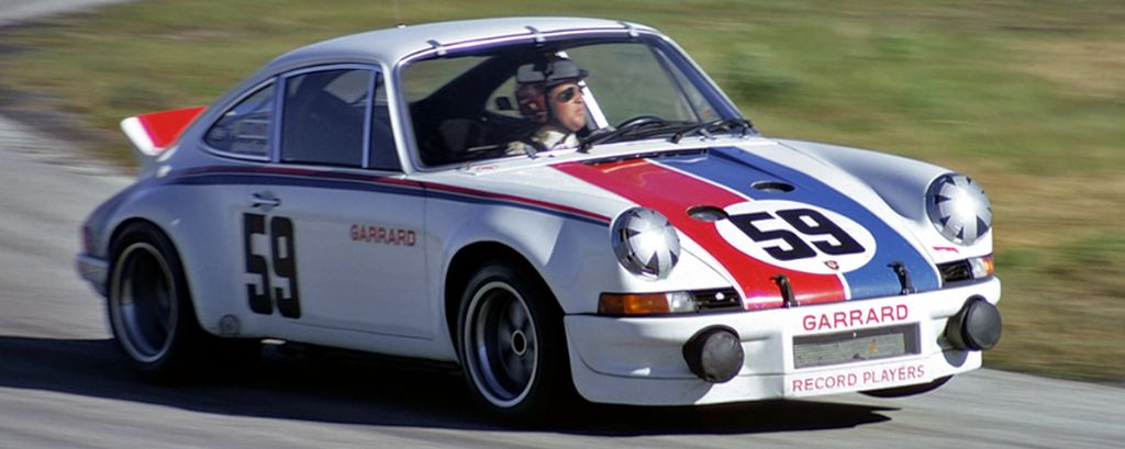 Brumos Porsche 911 RS at 1973 Daytona 24 Hours