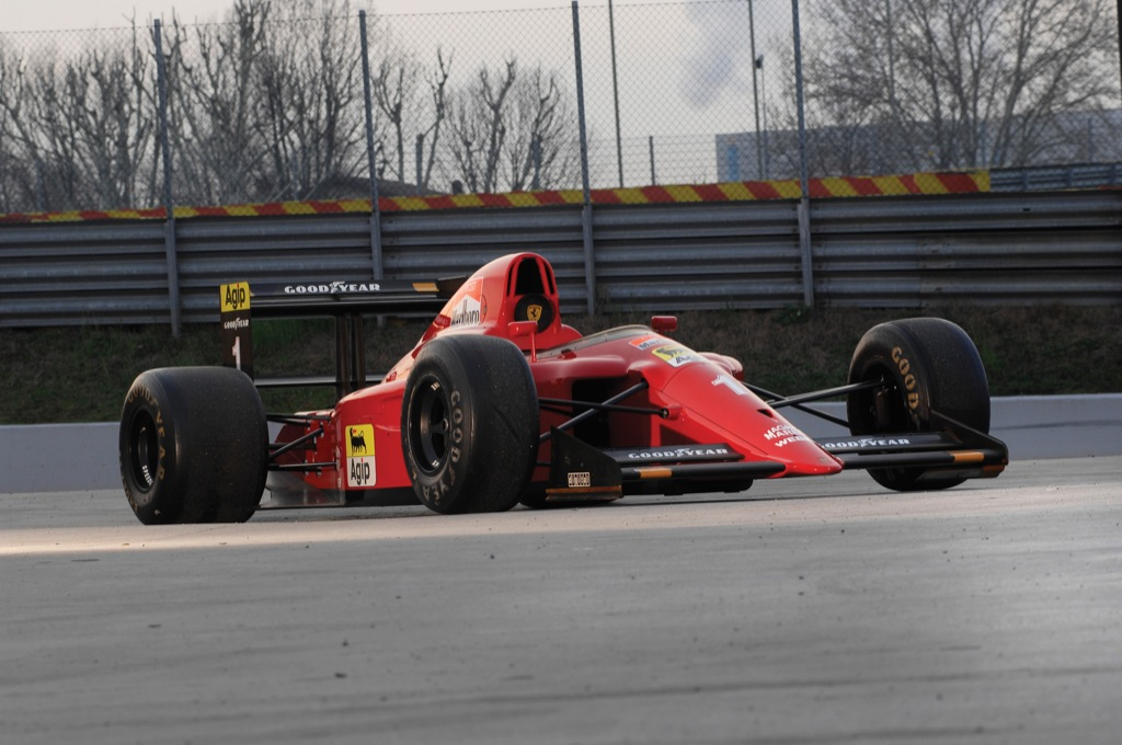 1990 Ferrari 641 2 Formula One Race Car 2009 Ferrari