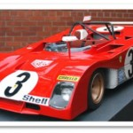 Ferrari 312 PB Scale Model – Car Profile