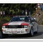 Audi Quattro Competing at Targa Newfoundland