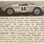 Porsche 550 Spyder and 718 RSK – Classic Cars for Sale