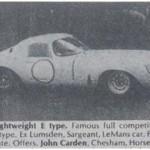 Jaguar E-Type Lightweight – Classic Cars for Sale