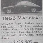 Maserati A6G 2000 Zagato – Classic Cars for Sale