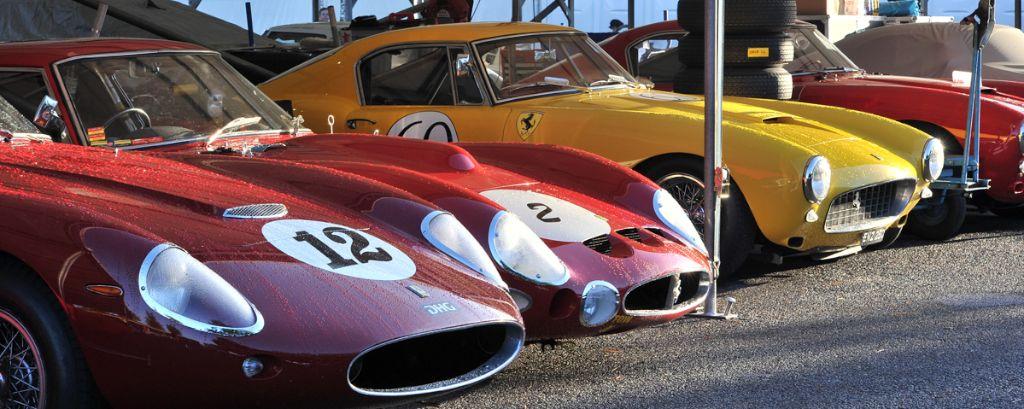 Ferrari Paddock at 2013 Goodwood Revival