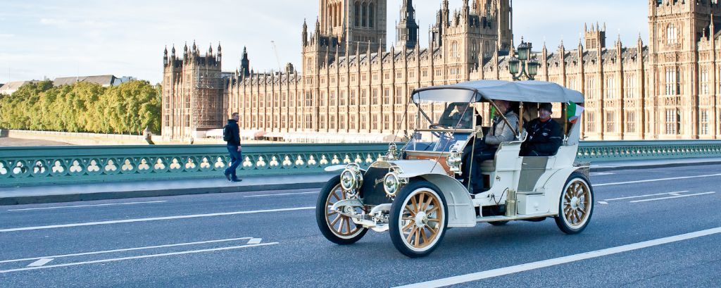 1904 Mercedes on 2013 London to Brighton Veteran Car Run