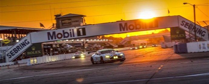 Aston Martin at Twelve Hours of Sebring 2013